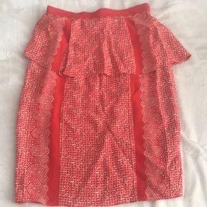 Anthropologie skirt size 0